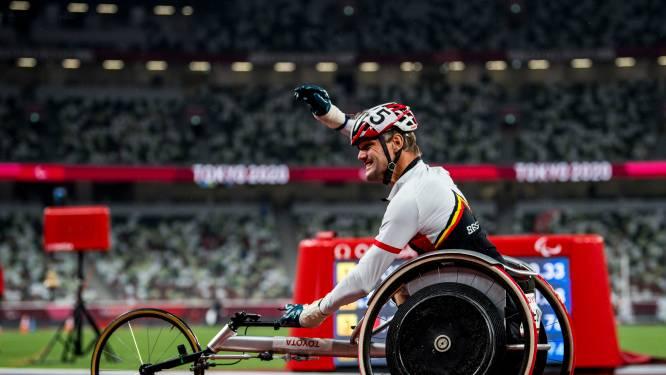 Bizar: Belgische paralympiër snelt in gesaboteerde rolstoel met wat ducttape naar goud