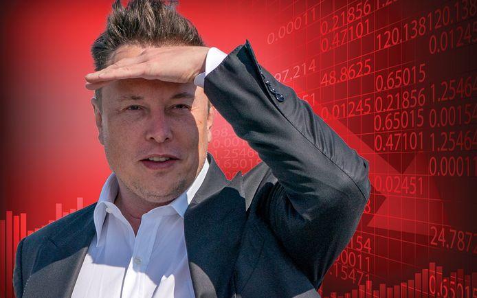 Het bedrijf van Elon Musk zag zijn beurskoers gisteren kelderen met 21 procent