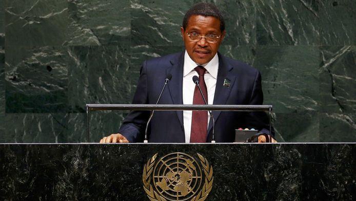 Le Président de la Tanzanie Jakaya Kikwete