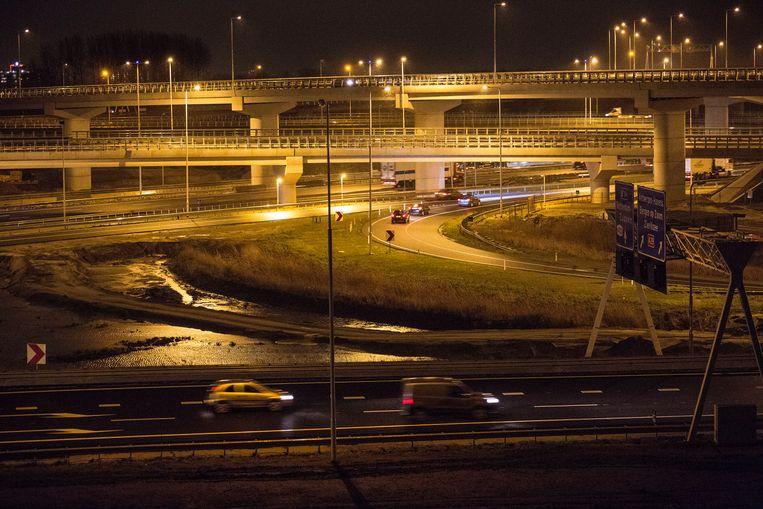 Na de verkoop van Nuon-aandelen aan het Zweedse Vattenfall investeerde de provincie Gelderland onder andere in het doortrekken van de A15. Beeld