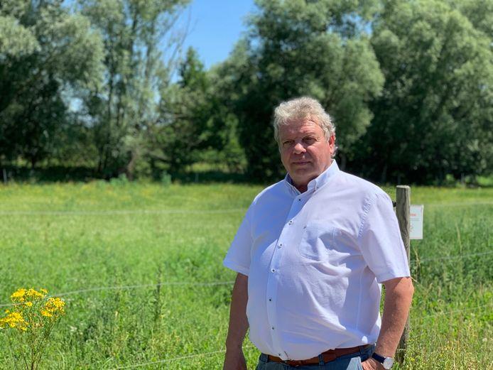 Burgemeester van Grimbergen Chris Selleslagh (Open VLD).