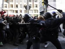 Heurts entre manifestants et policiers à Madrid
