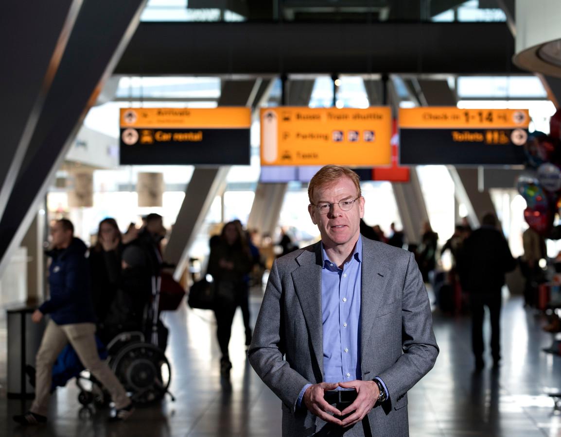 Joost Meijs directeur Eindhoven Airport.