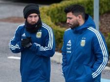 """Agüero """"croit"""" que Messi restera au Barça: """"Nous espérons jouer ensemble"""""""