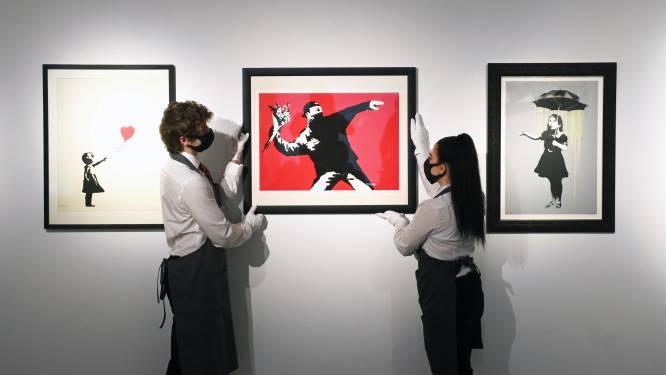 Veilinghuis accepteert cryptomunten voor veiling werk Banksy