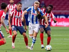 Titelkandidaat Atlético ontvangt Real Sociedad
