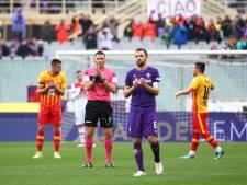 Fiorentina eert overleden Astori met indrukwekkend eerbetoon