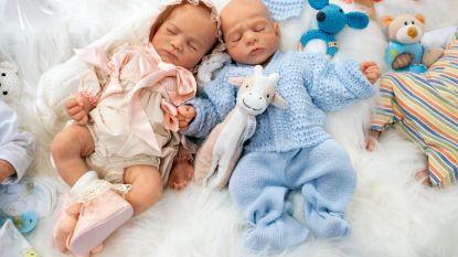 Nee, deze baby's zijn niet echt