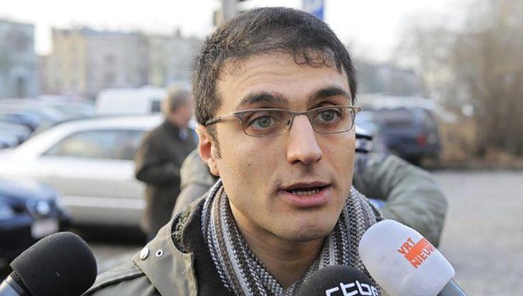 De Belgisch-Turkse activist Bahar Kimyongür. Beeld Belga