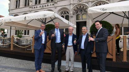 Toprestaurant Tafelrond opent terras op Grote Markt
