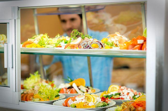 Eten in de bedrijfskantine is nog wel mogelijk. Foto ter illustratie.