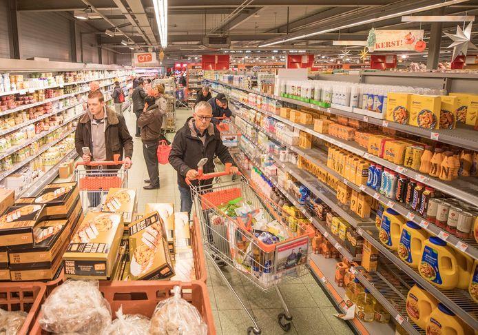 De Agrimarkt in Goes.