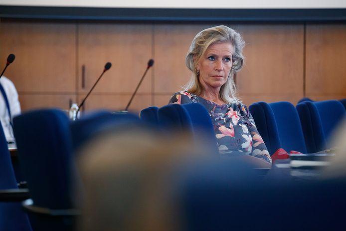 Wethouder van financiën Petra Koenders.