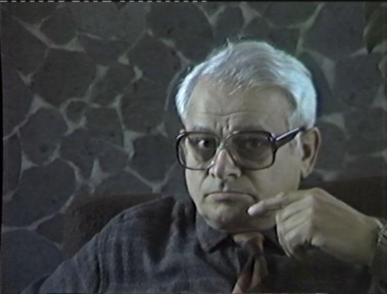 Jules Schelvis op zijn eigen opnamen. Beeld Jules Schelvis