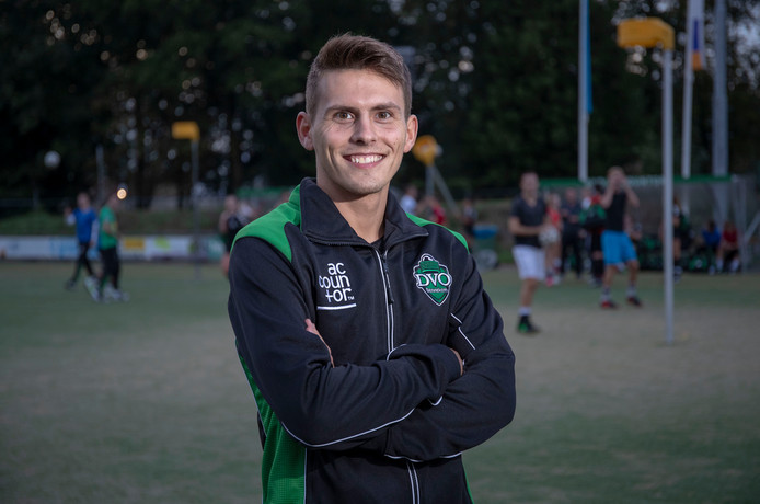Gertjan Meerkerk wil zijn nieuwe club DVO aan doelpunten helpen.