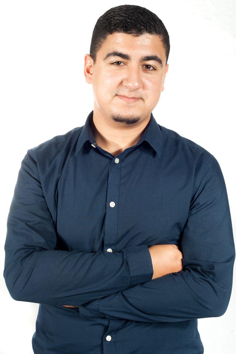 Khalid El Jafoufi. Beeld rv