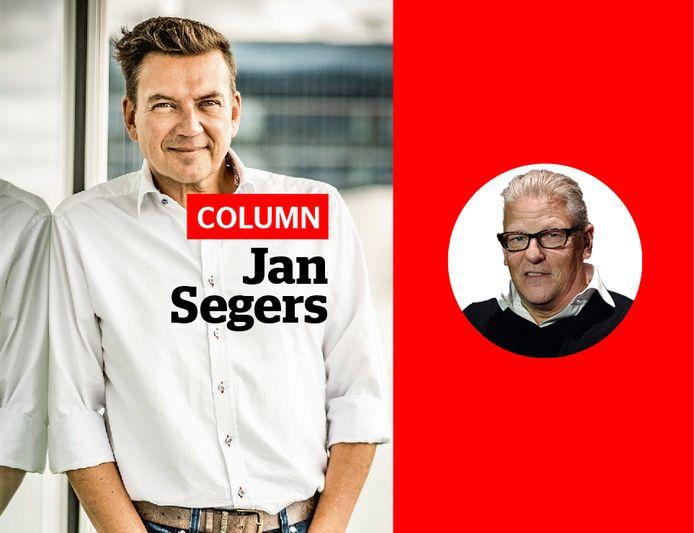 Jan Segers en Jan Fabre.