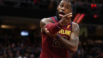 LeBron James en vicekampioen Cleveland in hoek waar klappen vallen: vierde opeenvolgende nederlaag