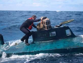 Amerikaanse kustwacht vindt vijf ton cocaïne aan boord van duikboot