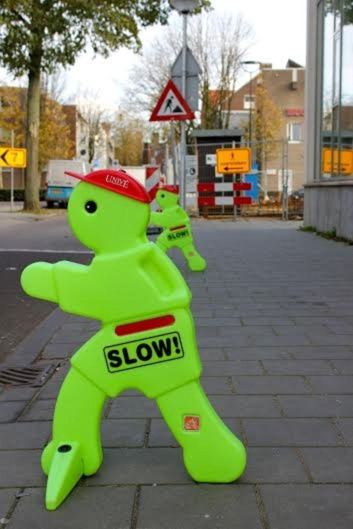 Oversteken bij De Elzen. Foto Sanne Stenvert.