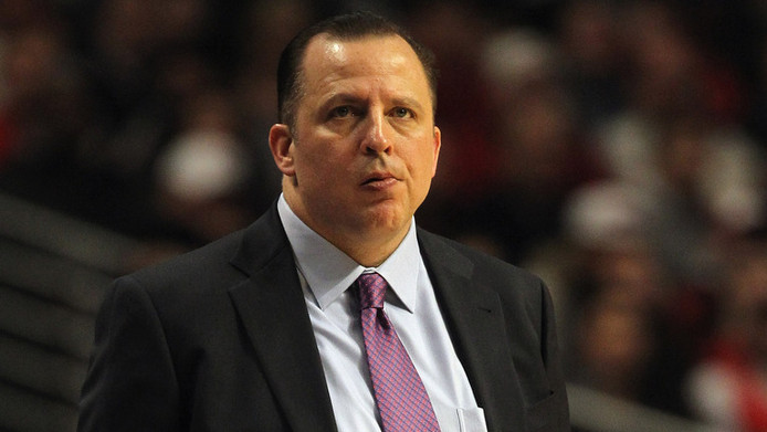 Bulls-coach Tom Thibodeau.