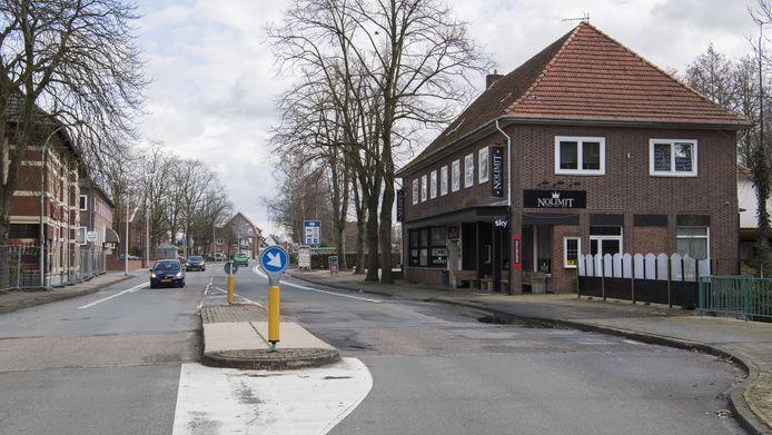 De grensovergang tussen Glanerbrug en Gronau.