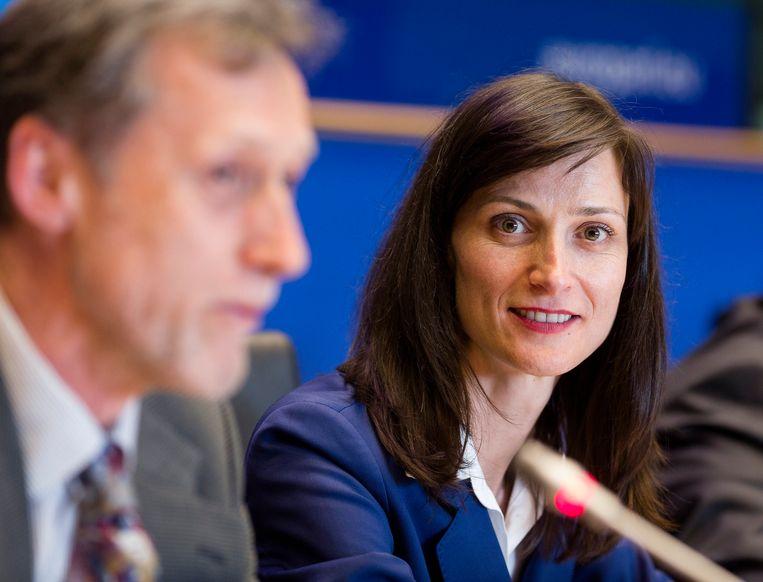 Mariya Gabriel, de nieuwe Bulgaarse Eurocommissaris.  Beeld Photo News