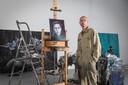 Ophuis in zijn Amsterdamse atelier.