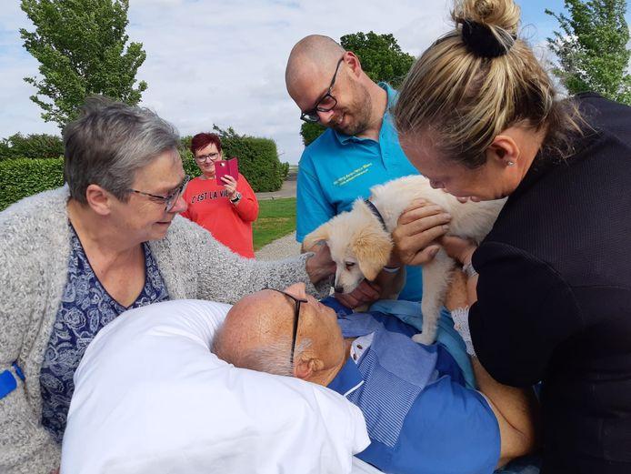 De vader van Arjan Verhoeven uit Alblasserdam wilde nog één keer naar de camping in Nieuwe-Tonge.