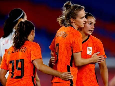 Leeuwinnen treffen wereldkampioen VS na doelpuntenfestijn tegen China
