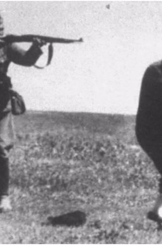 Dug-out met foute tekening krijgt nog staartje: prent is gebaseerd op foto van Nazi die Joodse moeder met kind doodschiet