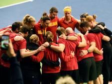 Fed Cup: la Belgique affrontera l'Espagne en barrages