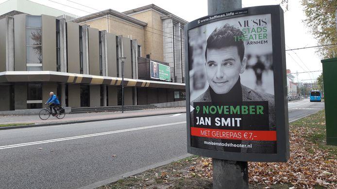 Stadstheater Arnhem op archiefbeeld.