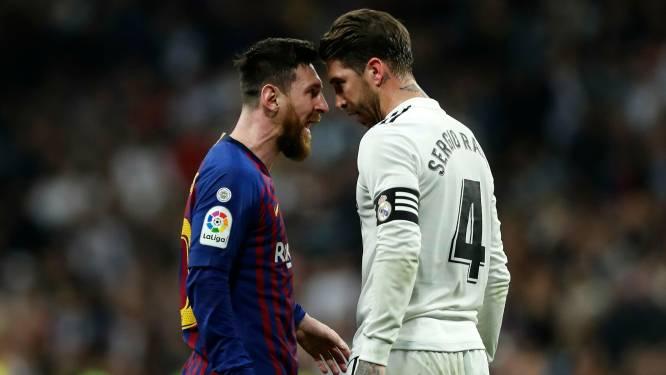"""Real Madrid-icoon Sergio Ramos: """"Messi naar Real? Graag! Dan mag hij bij mij blijven logeren"""""""