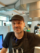 Chef-kok Marc Smeets.