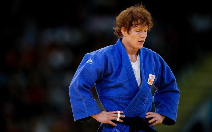 Elisabeth Willeboordse op de Olympische Spelen van 2012, toen ze zevende werd. Ze was fysiek fit, maar mentaal op.