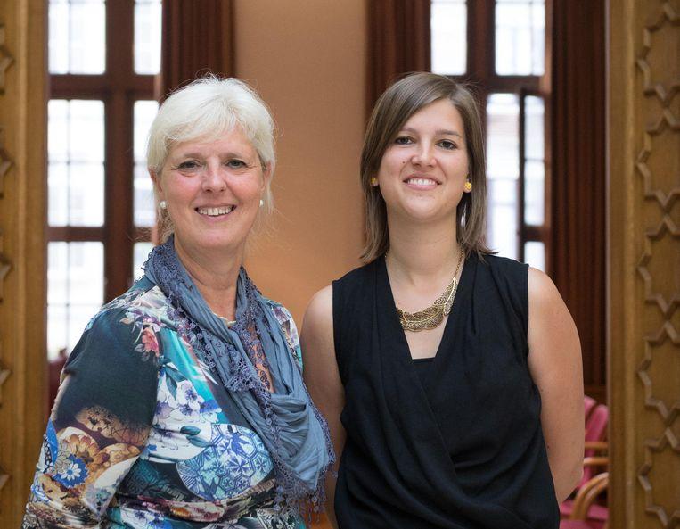 Rita Bellens en Sofie Joosen.