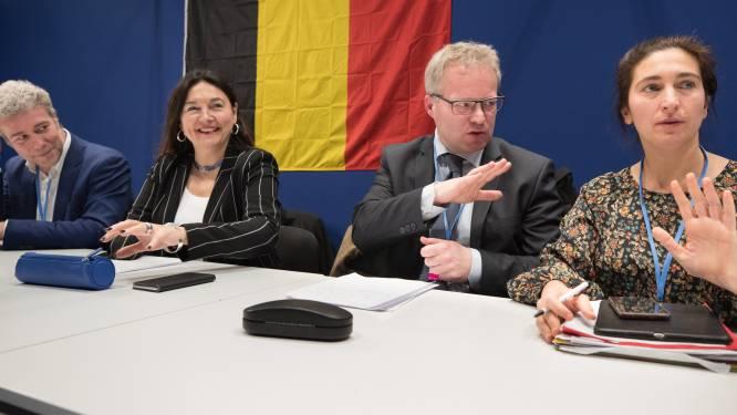 This must be Belgium: vier ministers bikkelen in Madrid over klimaatplan