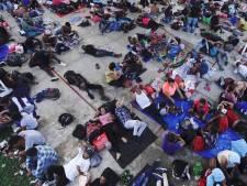 Nieuwe groep Midden-Amerikaanse migranten onderweg naar VS