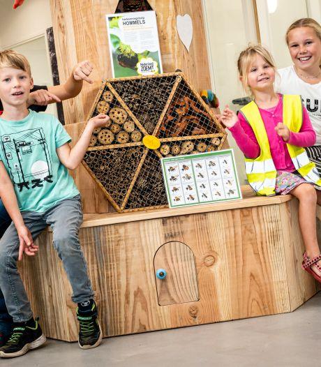 Leerlingen Markelose basisscholen krijgen buiten les over natuur en biodiversiteit