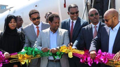 Eerste lijnvlucht in 41 jaar tussen buurlanden Ethiopië en Somalië