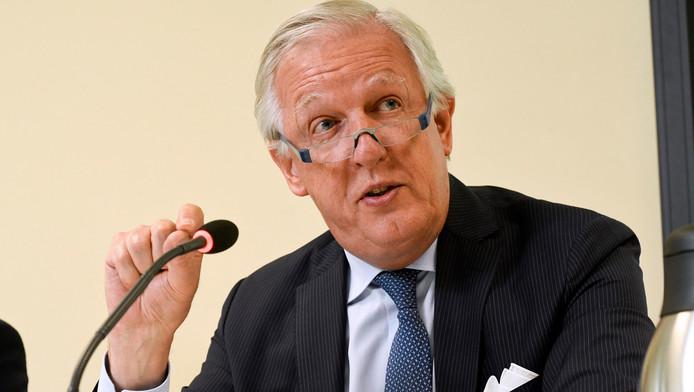 Le ministre des Pensions, Daniel Bacquelaine (MR)