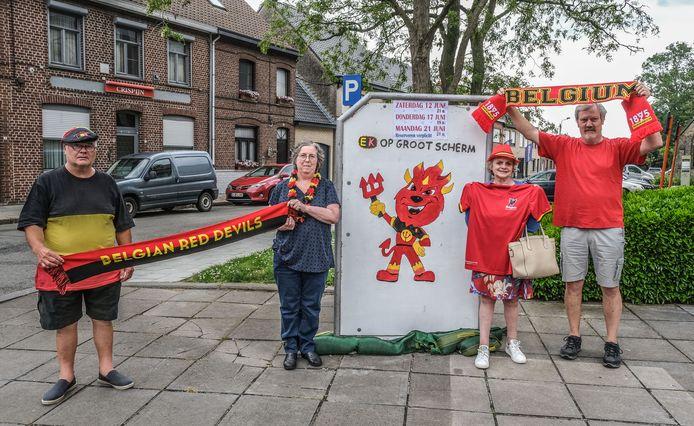 Yeannick Deberdt (64), Sabine Goudeseune (55), Mie Hollebeke (64) en Marc Devroedt (59) zijn er alvast klaar voor.