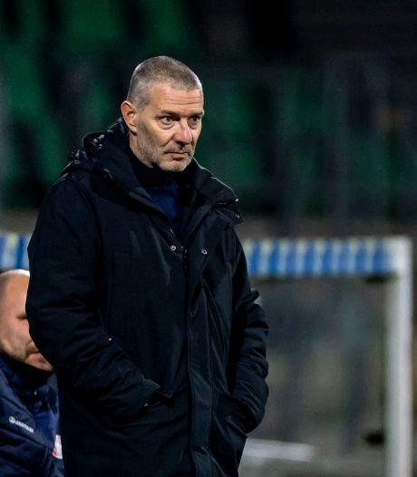 Jan Zoutman maakt balans op na vijf maanden FC Dordrecht: 'Alles begint met beleid en visie, dat mis ik'