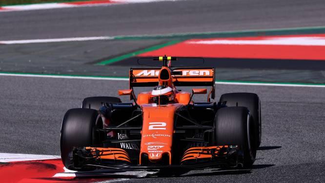 Kwalificatiesessie Vandoorne eindigt alweer vroegtijdig, Hamilton pakt pole in Spanje