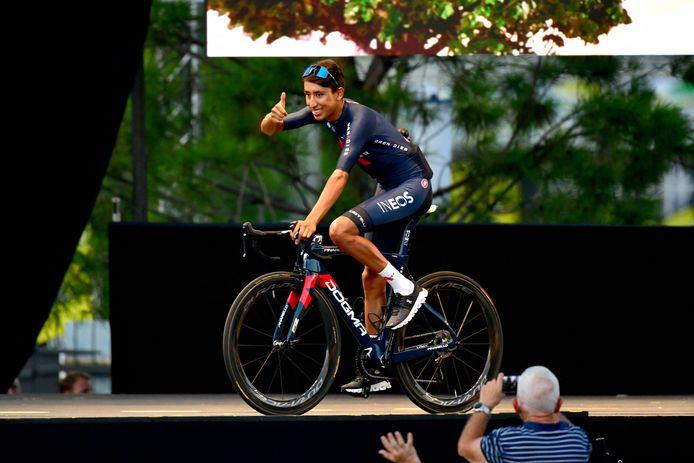 Ook titelverdediger Egan Bernal is één van de te kloppen renners.