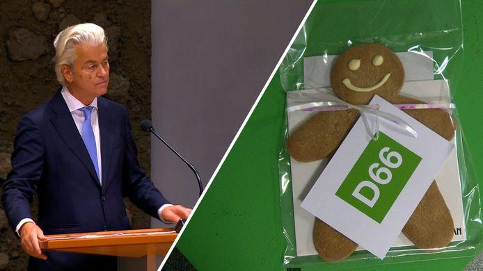 Wilders krijgt een cookie.