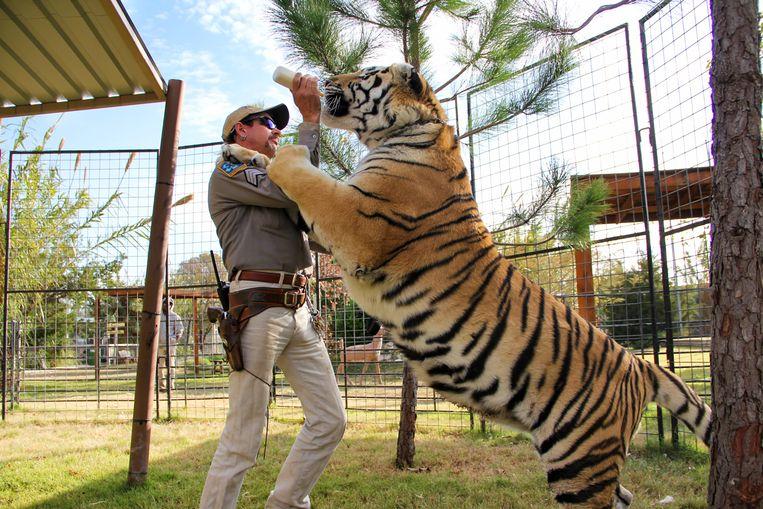 Beelden uit 'Tiger King' Beeld Netflix