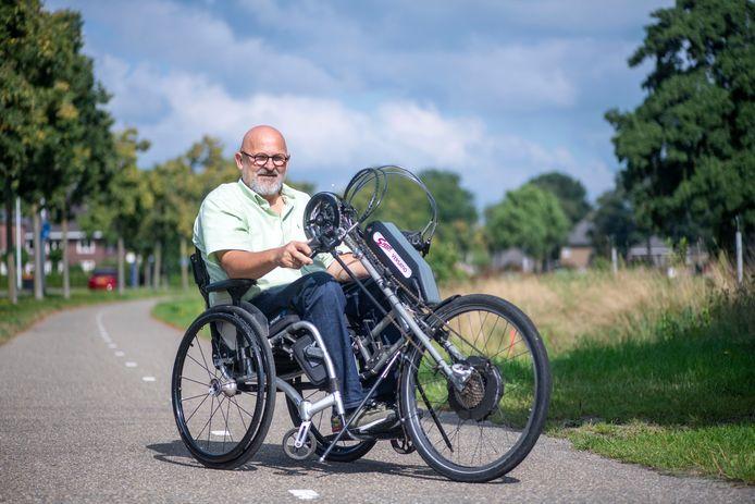 Geert Henk Wessels zet zich in voor kinderen om te sporten, ook in de rolstoel. Zelf heeft hij sinds zijn 15e een rolstoel.
