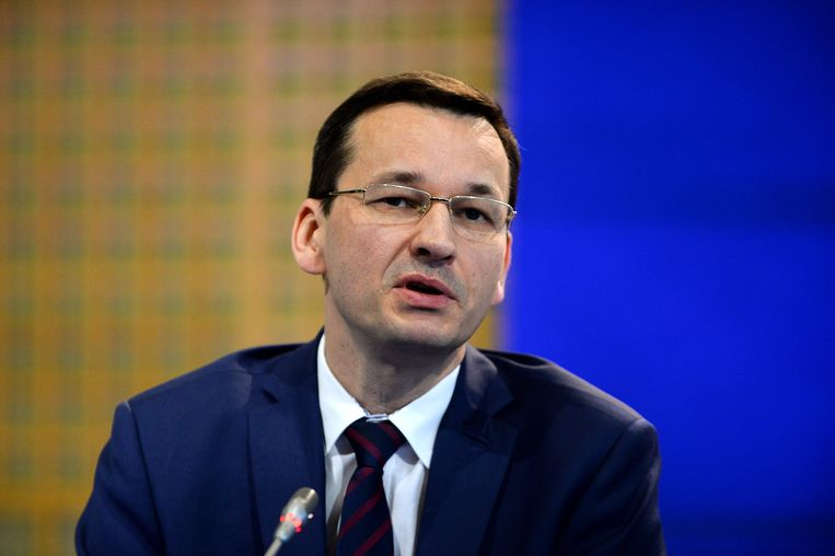Mateusz Morawiecki wordt de nieuwe eerste minister van Polen.